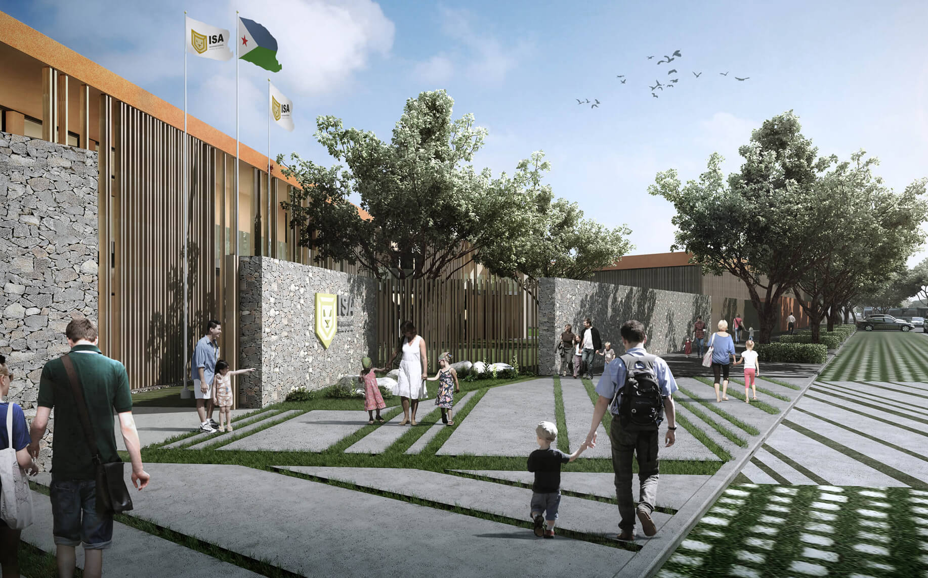 Djibouti ISA School