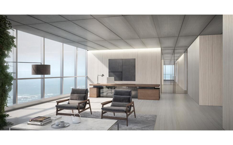 Etihad Towers Office